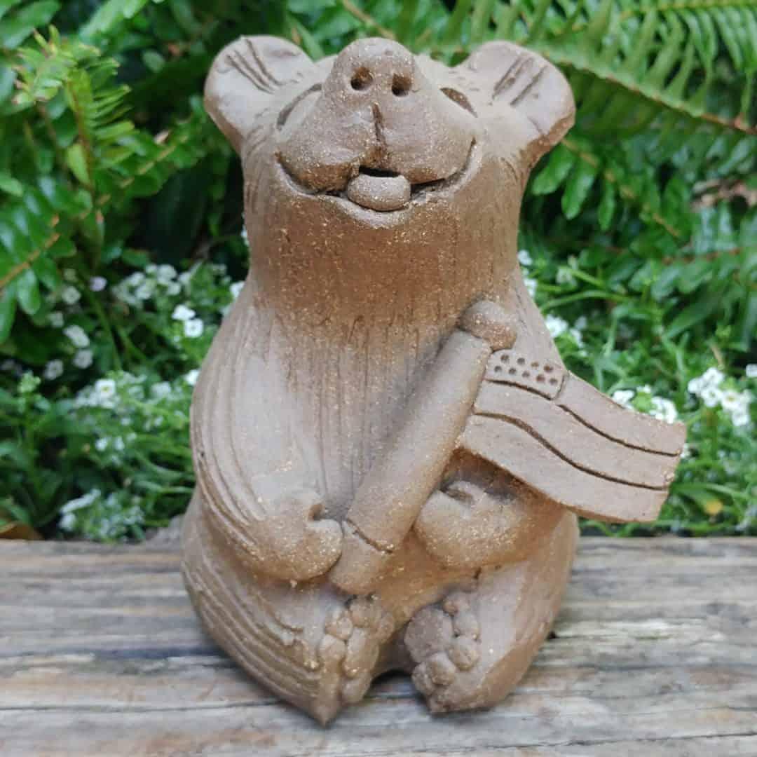 ceramic-flag-bear-medium-outdoor-figurine-by-margaret-hudson-earth-arts-studio-1