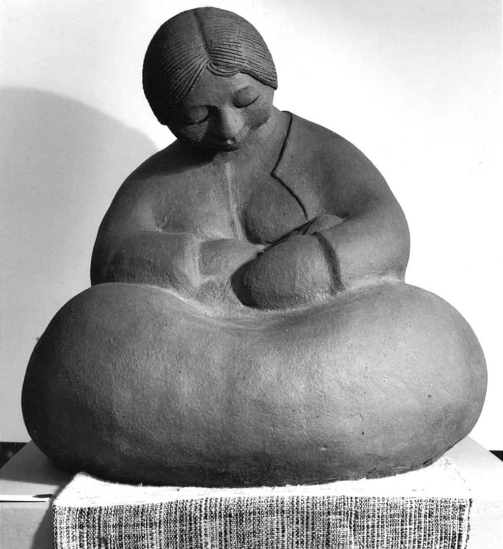 guatemalan-woman-nursing-baby-sculpture-by-margaret-hudson