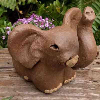 pottery-elephant-planter-small-garden-figurine-by-margaret-hudson-earth-arts-studio-7