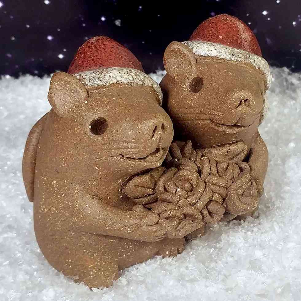 Xmas-Mice-with-flowers-5