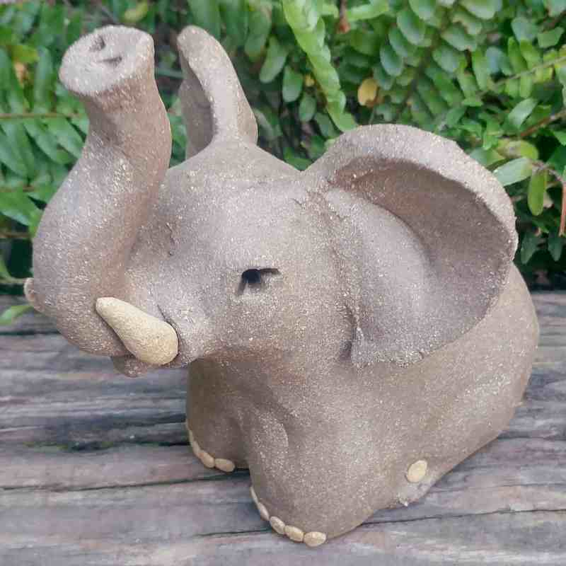 ceramic-small-standing-elephant-400×400-outdoor-sculpture-by-margaret-hudson-earth-arts-studio-4