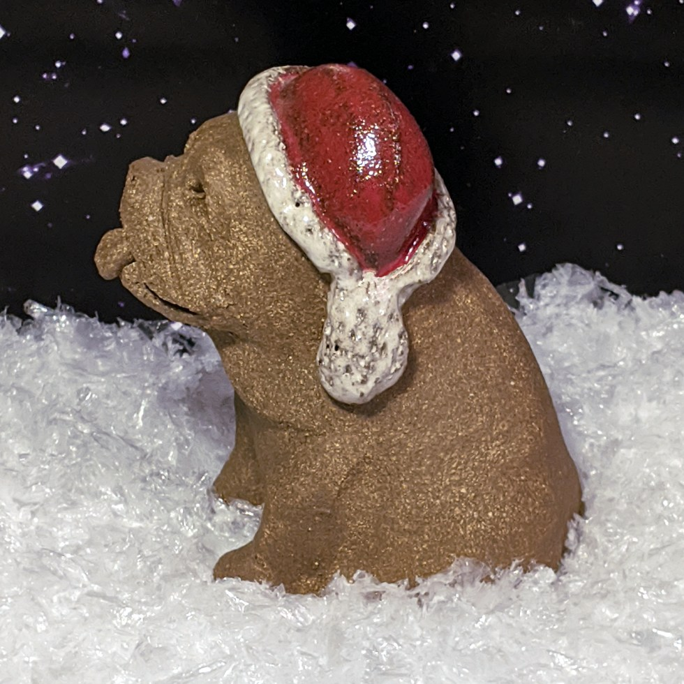 santa-hat-bulldog-margaret-hudson-sculpture-5