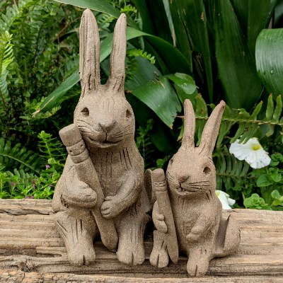 desk-rabbit-group-shot-pencil-letter-holder-handmade-clay-sculpture-margaret-hudson-earth-arts-studio-14