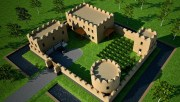 earthbag castle house