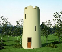 House Plans Observation Tower