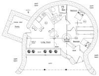Hobbit | Earthbag House Plans