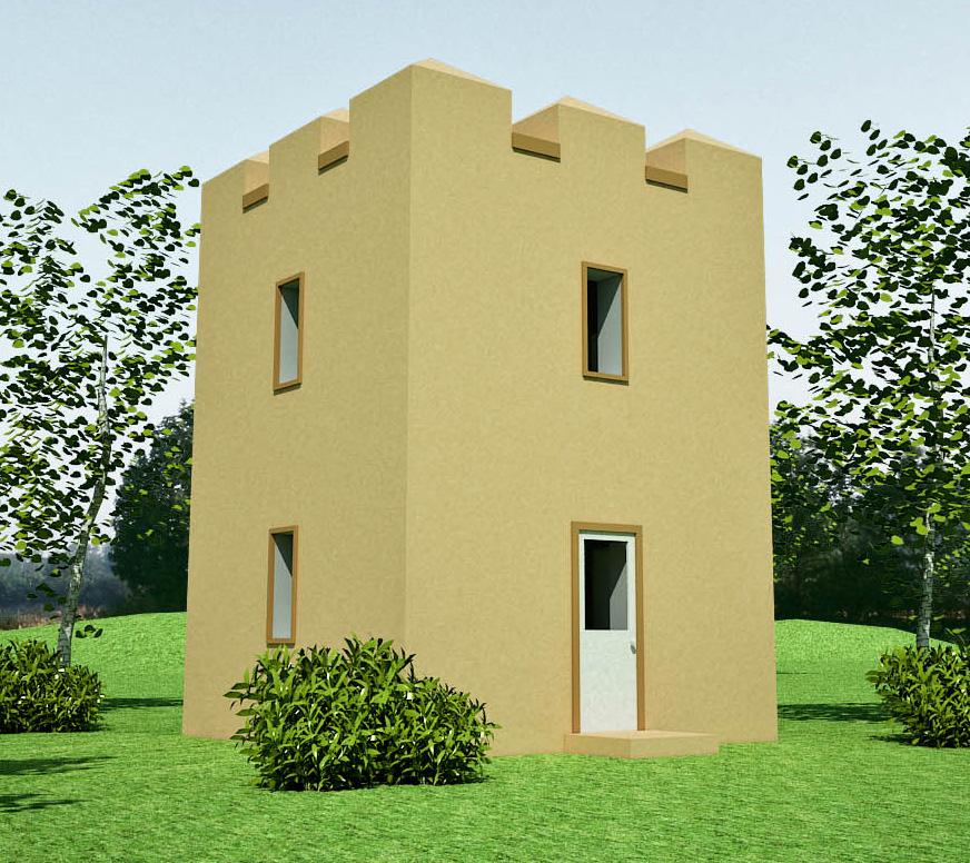Tower Design Earthbag House Plans