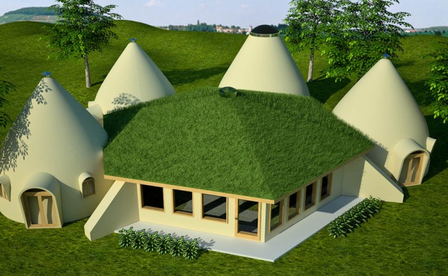 Blueprint Earthbag House Plans