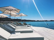 Beach Day Hotel Barri Le Majestic Cannes France