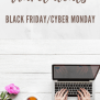 Ultimate Cyber Monday Black Friday Travel Deals 2018
