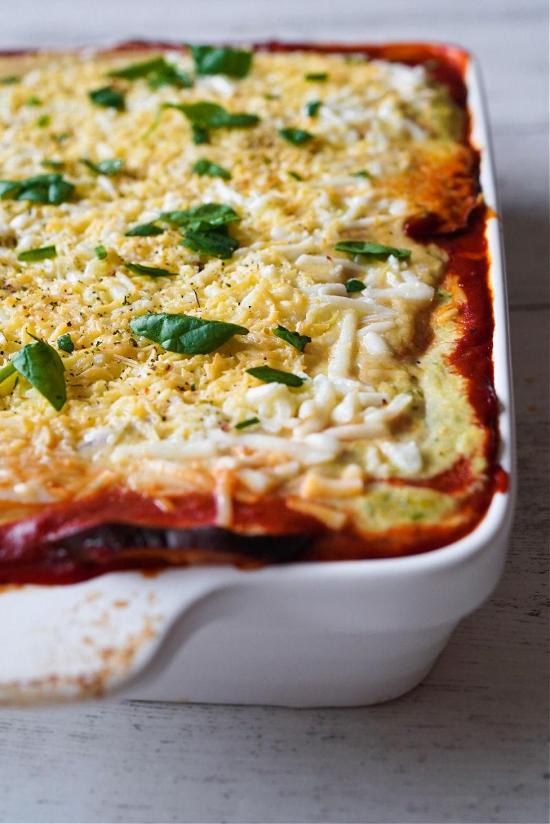 vegetarian eggplant lasagna