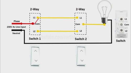small resolution of light switch wiring ac wiring diagram yes making a light switch circuit 2 way light switch