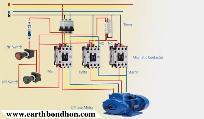 3 phase star delta motor wiring diagram – earth bondhon