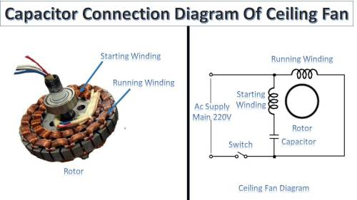 small resolution of capacitor connection of ceiling fan earth bondhon ceiling fan capacitor circuit diagram ceiling fan capacitor circuit diagram