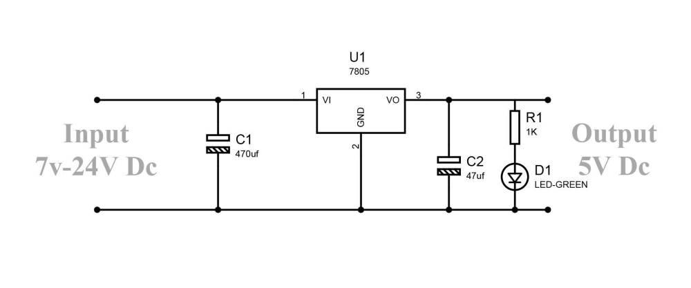 medium resolution of fig regulator lm7805 circuit diagram