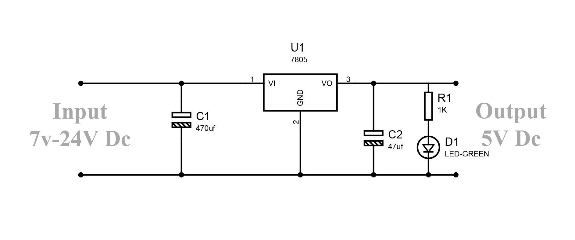 hight resolution of how to convert 9v to 5v regulator circuit earth bondhonfig regulator lm7805 circuit diagram