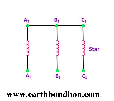 3 Phase Motor Capacitor Star-Delta Connection