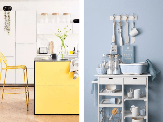 Yellow Kitchen Image Courtesy Of House Beautiful Ft Drawers Painted In Earthborn S Daisy Chain