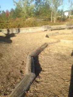cooper mountain playground logs