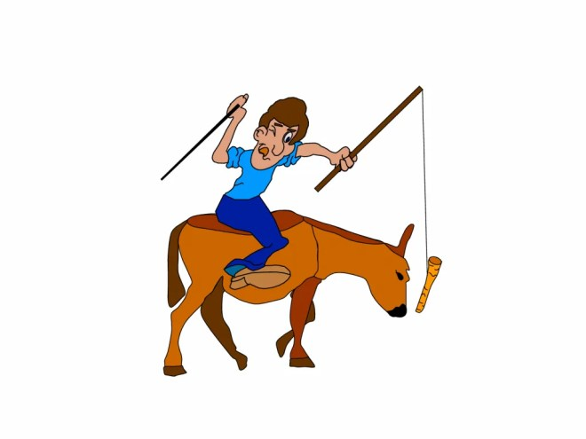 carrot and stick donkey