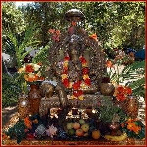 Ganesh Altar
