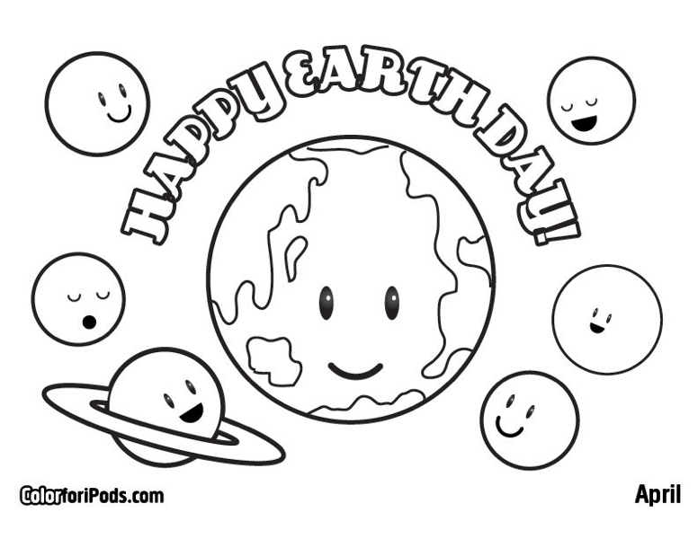 50 Earth Day Coloring Pages In 2019 Save Earth Coloring