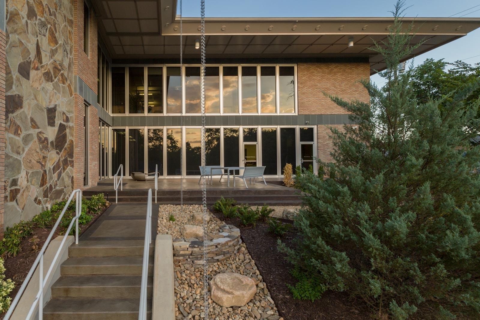 Greenville Federal Credit Union | Earth Design Landscape ...