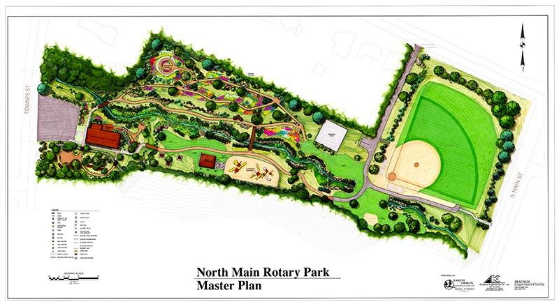 Earth Design Landscape Architecture Pickens Sc Rotary Park