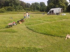 Making and Mowing