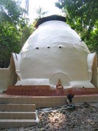 Dome built by Scott in Thailand :: Sound Meditation Center