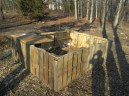 here is a shot of their outdoor pallet playpen