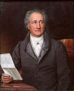 Johann Wolfang von Goethe, Free Frankfurt, 1828.