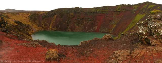 Iceland Crater