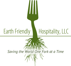 earth friendly hospitality logo tagline - Earth Friendly Hospitality, LLC