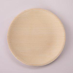 Round Bamboo Plates