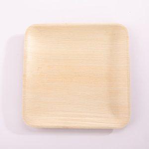 Square Bamboo Plates