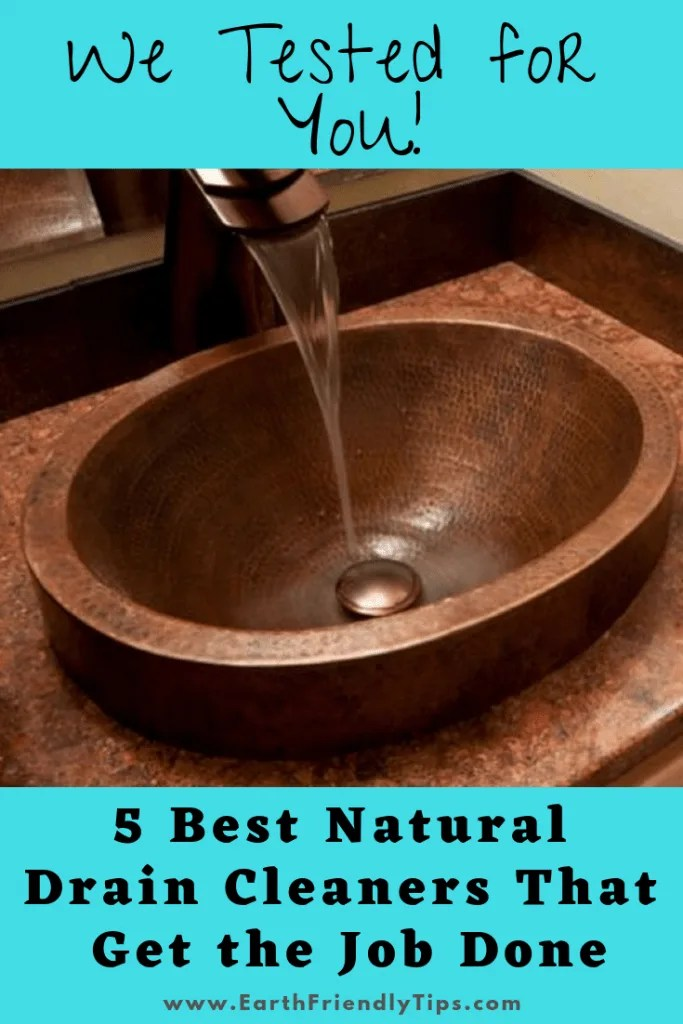best natural drain cleaner earth