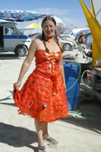 Trash Fence Dress