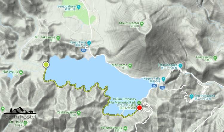 Chuzenji Lake hiking course