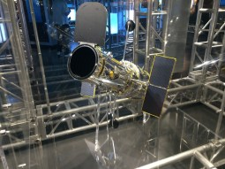 Hubble Telescope, Intrepid Sea Air & Space Museum