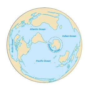 5 Oceans Map