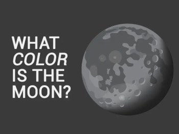What Color Is the Moon