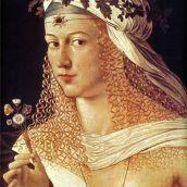 (Bartolomeo Veneto, Ritratto di Flora)