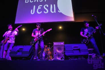 "So-called ""post-Internet"" band Beast Jesus brought the event to a rumble."