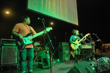 Inch is one of two Singaporean acts who flew over for Bandwaon Music Market.