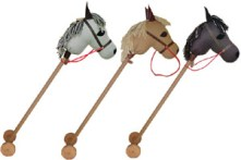 Remember these? Handmade hobby horses are beautiful childhood classics that let your kids' imagination gallop away with them. This Ride on Pony is filled with highest quality lightweight Merino wool and is perfect for keeping the little ones active all day. Giddy up! Want to buy one? http://bit.ly/17bSUcu