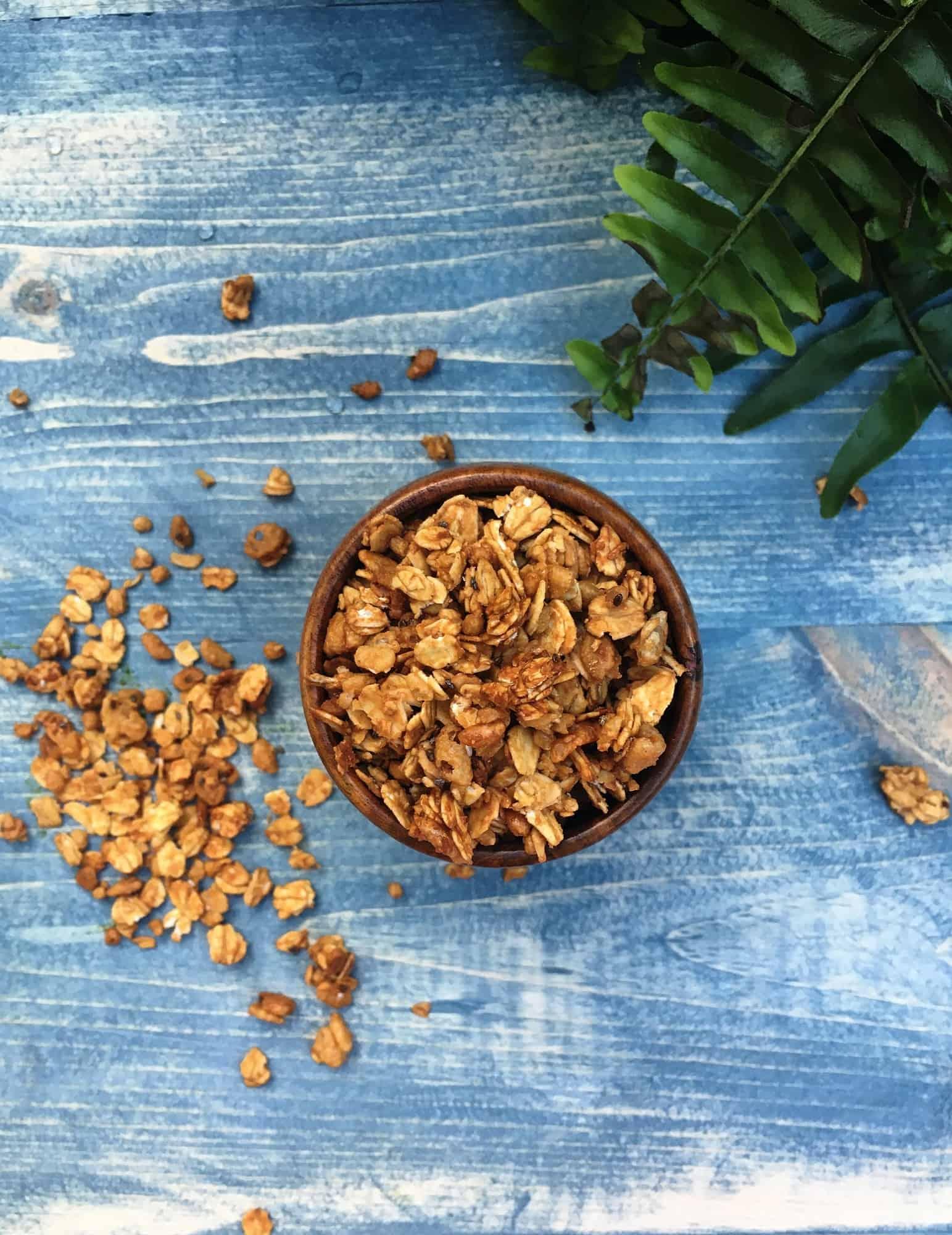 Peanut Butter Chia Granola