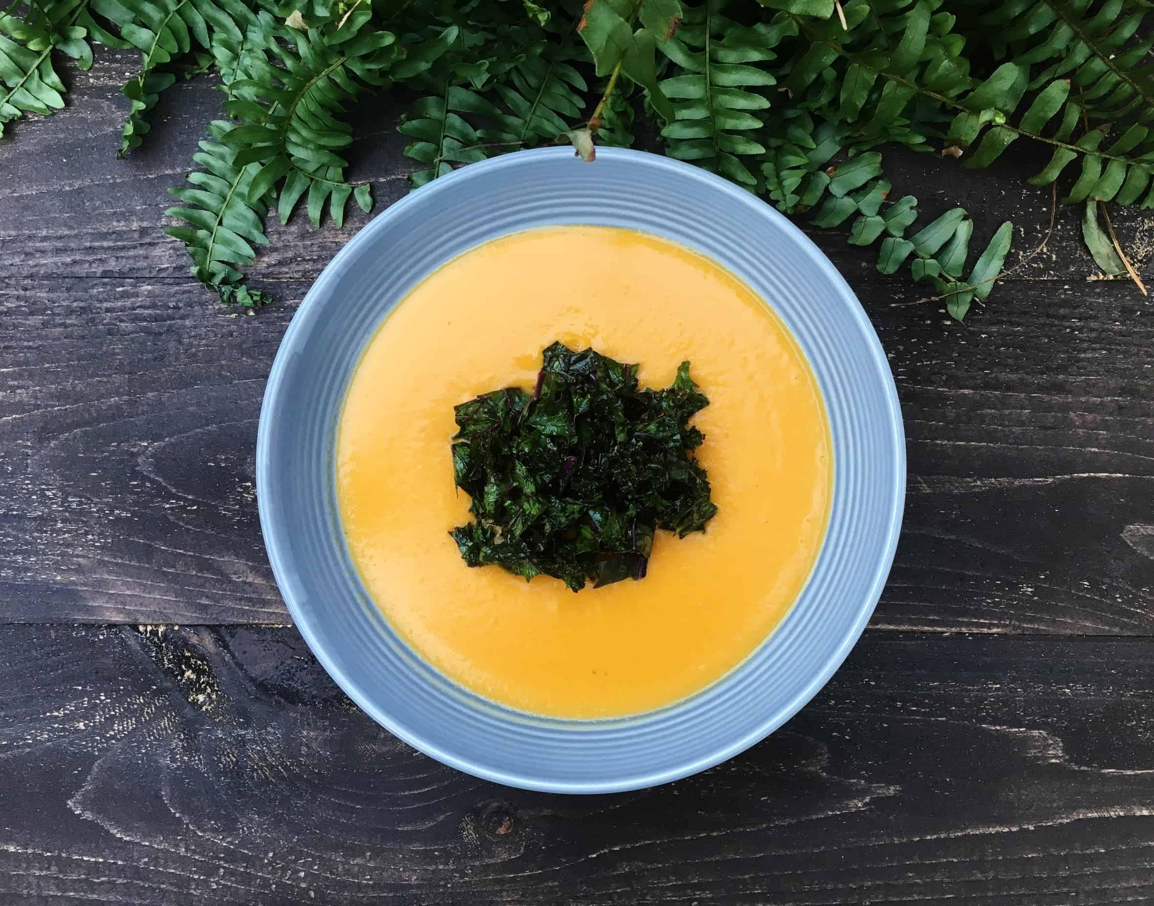 Ginger & Lemongrass Sweet Potato Soup