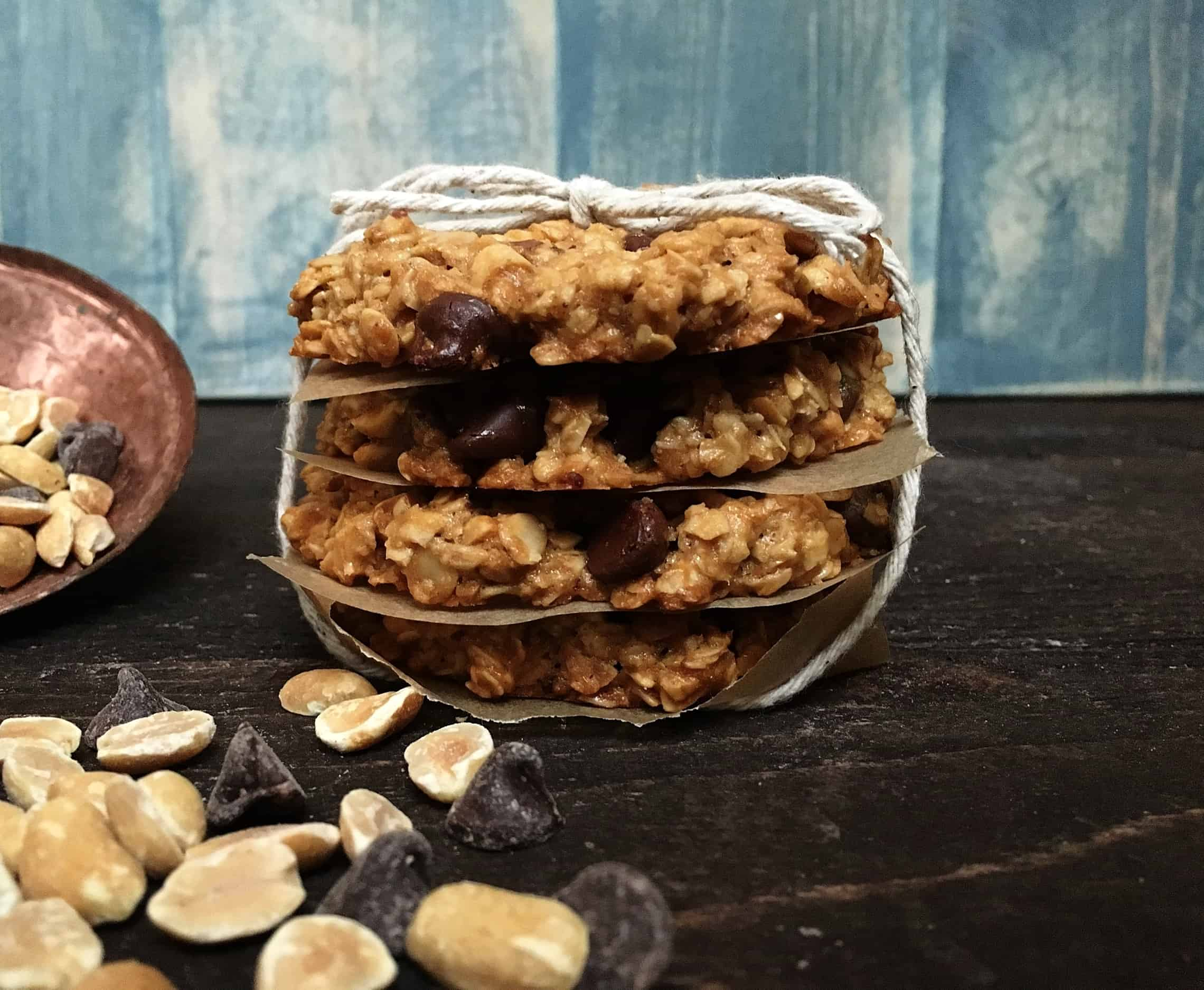 Gluten Free Peanut Butter Chunk Cookies