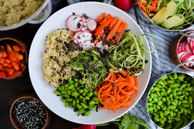 20 Minute Dinner: Quinoa Sushi Bowl